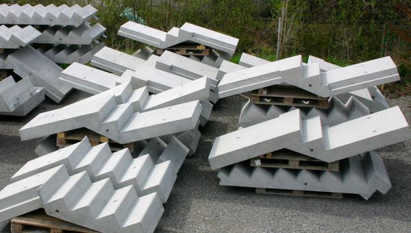 Treppenelemente aus Beton